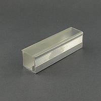 Профиль для светодиодной ленты с рассеивателем PL-25 (с крышкой)