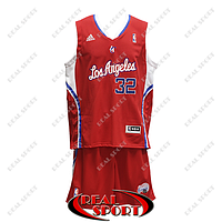Баскетбольная форма Лос-Анджелес Клипперс, Блэйк Гриффин №32, красная, фото 1