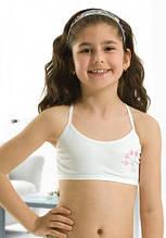 Бюстгальтер для девочки Ozkan топик (об.50-54см ) белый