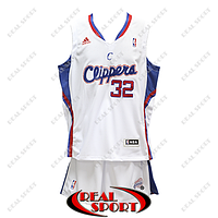 Баскетбольная форма НБА Лос-Анджелес Клипперс, Блэйк Гриффин №32, белая, фото 1