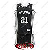 Баскетбольная форма НБА Сан-Антонио Спёрс, Данкан №21, черная