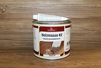 Шпатлевка  двухкомпонентная полиэфирная для древесины, Черный 60, Holzmasse K2, 0.75 litre, Borma Wachs