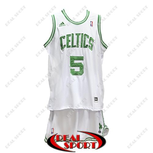 Баскетбольная форма НБА Бостон Селтикс, Кевин Гарнетт №5, белая