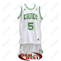 Баскетбольная форма НБА Бостон Селтикс, Кевин Гарнетт №5, белая, фото 1
