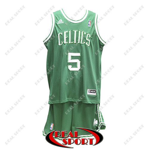Баскетбольная форма НБА Бостон Селтикс, Кевин Гарнетт №5, зеленая