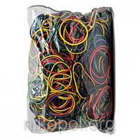 Резинки для денег, цветные 500 гр.