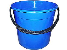 Ведро пластиковое пищевое Мед 15 л синее