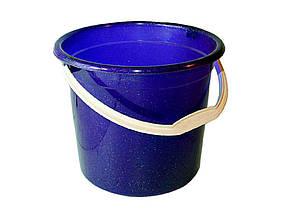Ведро пластиковое пищевое Консенсус 10 л синее