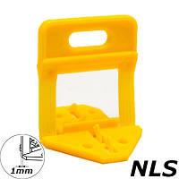 Основы системы укладки и выравнивания плитки NLS, 1мм,  (50 шт, пакет), фото 1