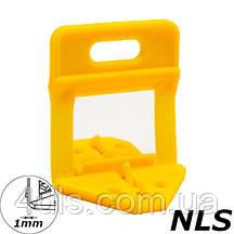 Основи системи укладання і вирівнювання плитки NLS, 1мм, (50 шт, пакет)
