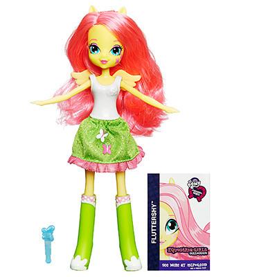My Little Pony Лялька Еквестрія Флаттершай (Equestria Girls Fluttershy, Кукла Эквестрия Флатершай)