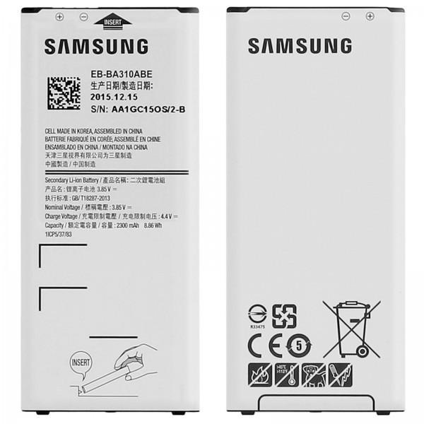 Акумуляторна батарея  EB-BA310ABE для мобільного телефону Samsung  A310F Galaxy A3 (2016)