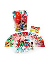 Пазлы магнитные Куклы, игрушки для малышей