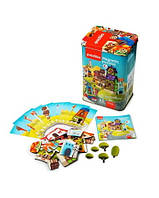 Пазлы магнитные Домики, игрушки для малышей, развивающие игры