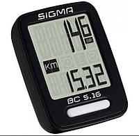 Велокомпьютер Sigma BC 5.16 проводной