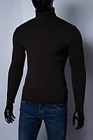 Гольф водолазка мужской теплый FR 152902484 коричневый
