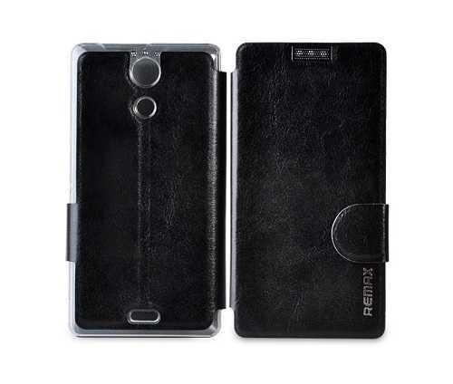 Чехол Fashion Sony M36h черный Remax 63002