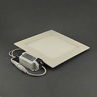 Встраиваемый светодиодный светильник Bellson Квадрат 12Вт