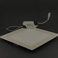 Встраиваемый светодиодный светильник Bellson Квадрат 18Вт, фото 1