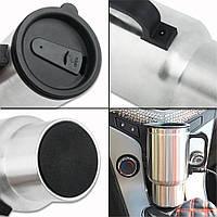 Термокружка с подогревом Heated Travel Mug (Stainless Steel)