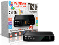 Тюнер DVB-T/T2/C/IPTV World Vision T62D