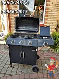 Газовый гриль - барбекю с газовой плитой б/у из Германии, фото 8