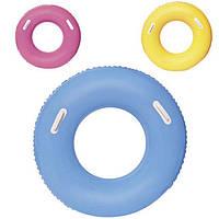 Надувной круг Bestway флуоресцентный с ручками