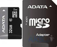 Карта памяти A-Data 32Gb microSDHC Class 10 Ultra UHS-I +SD адаптер (AUSDH32GUICL10-RA1)