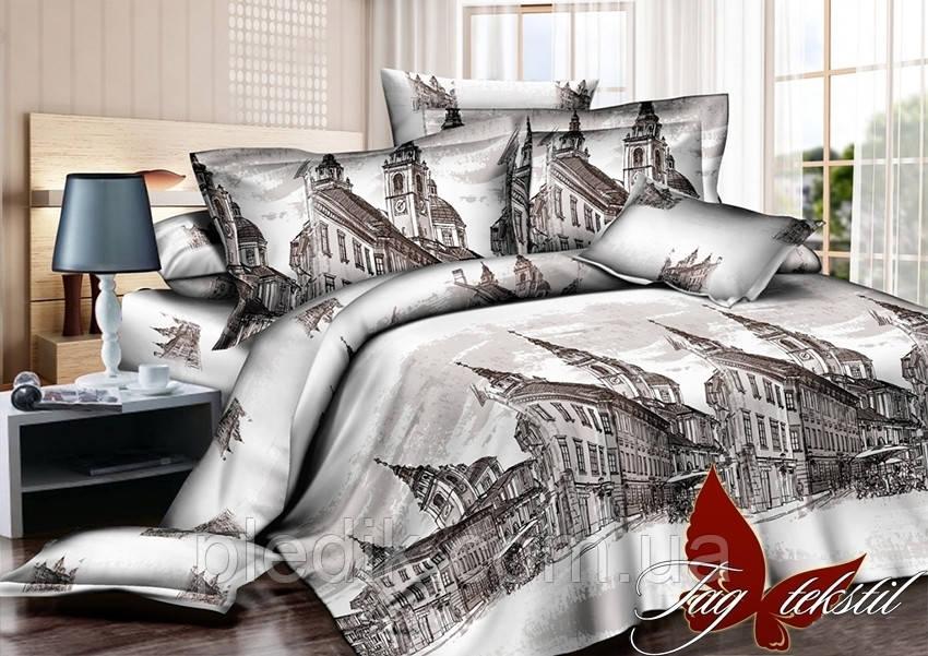 Семейное постельное белье Ранфорс TAG(sem)-433