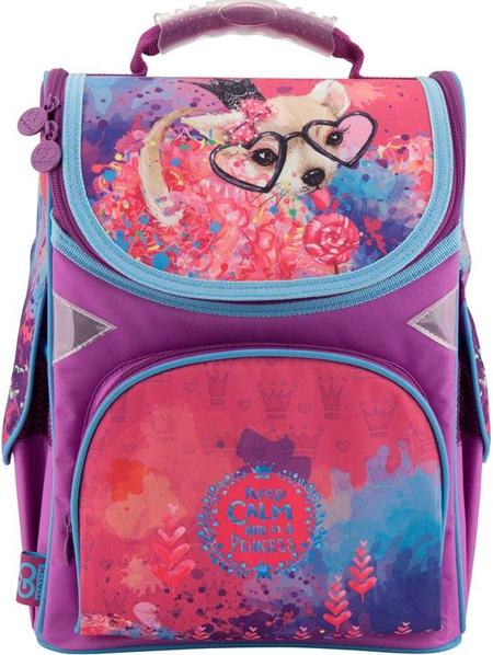 31c57b3ac8cd Детский школьный рюкзак GoPack GO18-5001S-6, 11л, розовый - SUPERSUMKA  интернет