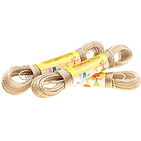 Веревка для сушки белья 20м, усиленная проволочной сердцевиной 2,5мм арт.SD4-2