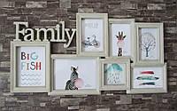 "Фотоколлаж рамка ""Family"", фото 1"