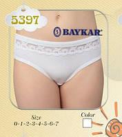 Трусы для девочки , белые, 5397, ТМ  BAYKAR, Турция 1 (92-98)(р), фото 1