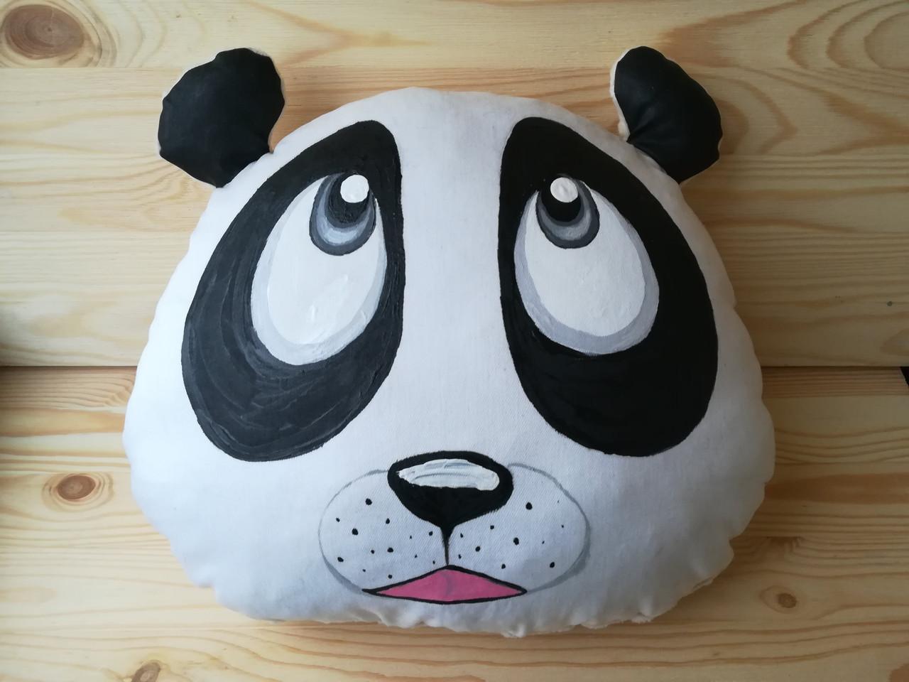 Подушка панда ,  31 см * 38 см