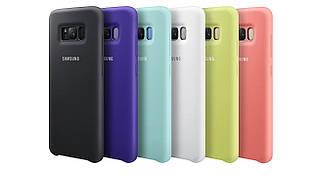 Силиконовые чехлы для Samsung Galaxy S8. Софт-тач силиконовые чехлы