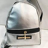 Дешевые рюкзаки P.Plein опт (черный)16*22, фото 2