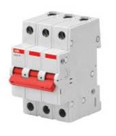 Выключатели-разъединители нагрузки bаsic M ABB 3P