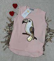 Стильная футболка ТМ Little Star,  Литл Стар для девочек. Турция рост 116-164, фото 1