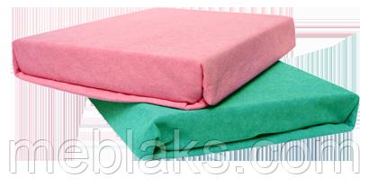 Наматрасник махровый Розовый 90х200 см. Viva, фото 2