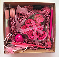 Подарочная коробка для девушки (beauty-box, микс бокс, коробка с полезностями)