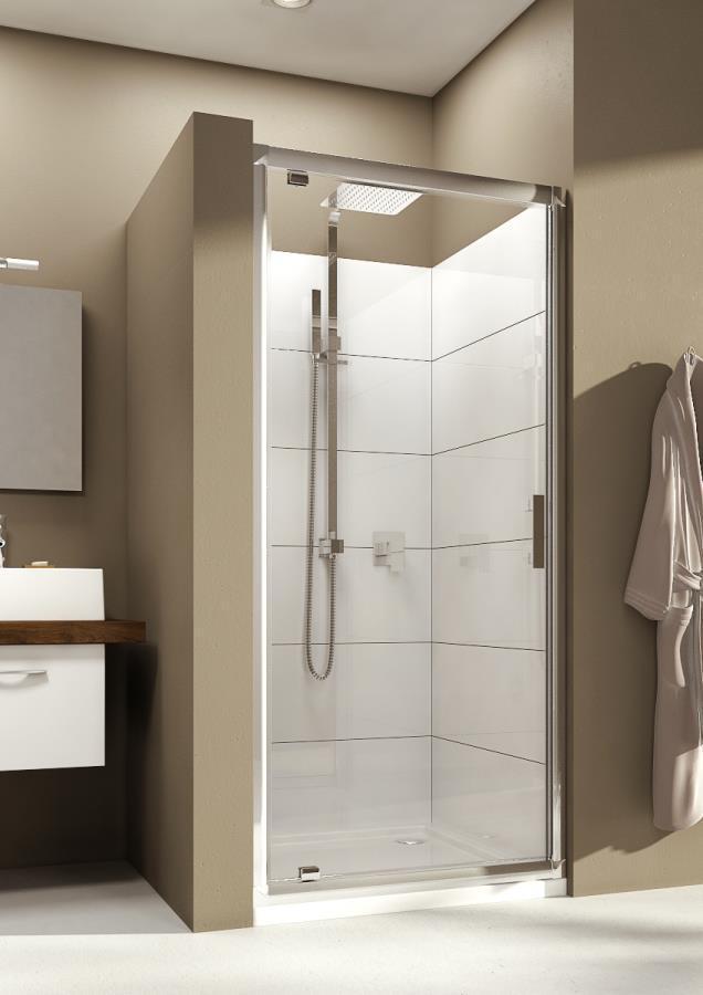 Aquaform SUPRA PRO: Раздвижные дверь в нишу или к стенке