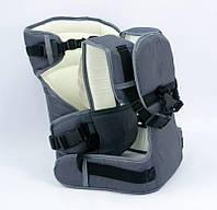 Рюкзак-кенгуру №12 серый