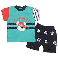 Костюм для мальчика  74-92 арт.1088 футболка+шорты