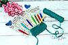 Новинка в ассортименте! Крючок Waves с цветной ручкой KnitPro!