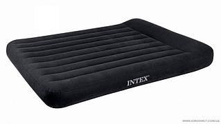 Надувний матрац Intex з підголовником