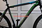 """Горный велосипед Kinetic Storm 27.5 дюймов 21"""" черно-голубой, фото 3"""