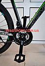 """Горный велосипед Kinetic Storm 27.5 дюймов 21"""" черно-голубой, фото 8"""