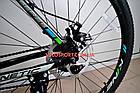 """Горный велосипед Kinetic Storm 27.5 дюймов 21"""" черно-голубой, фото 9"""