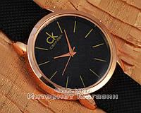 Женские наручные часы Calvin Klein Quartz Lady Gold Black реплика кварцевые отличное качество модный стиль