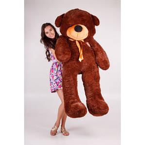 Плюшевый медведь Тедди 180 см Тёмно-коричневый